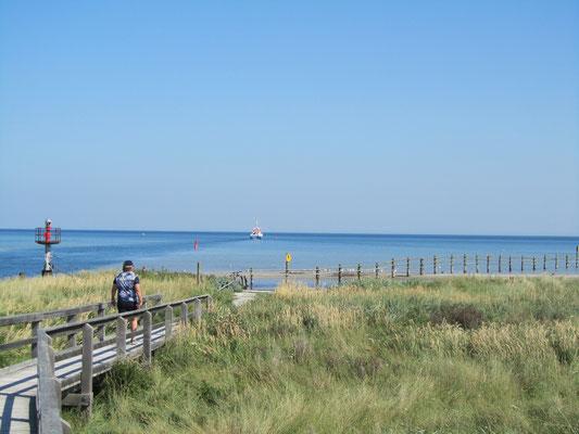 Darßer Ort an der Ostsee