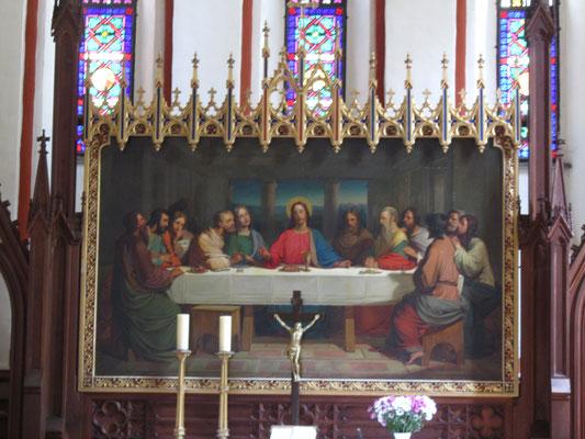 Abendmahl Jesu Bild Kirche Röbel