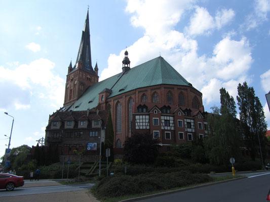 Kirche Stettin