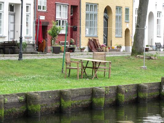 Lübeck vom Wasser aus