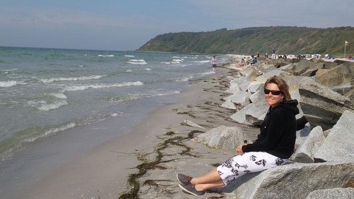 Am Strand von Hiddensee