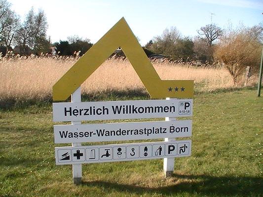 Wasserwanderrastplatz Born