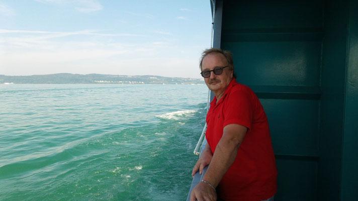 Mit dem Schiff über den Bodensee