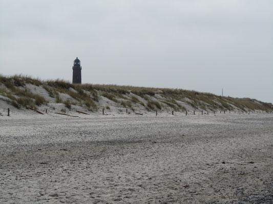 Strand und Leuchtturm Darßer Ort