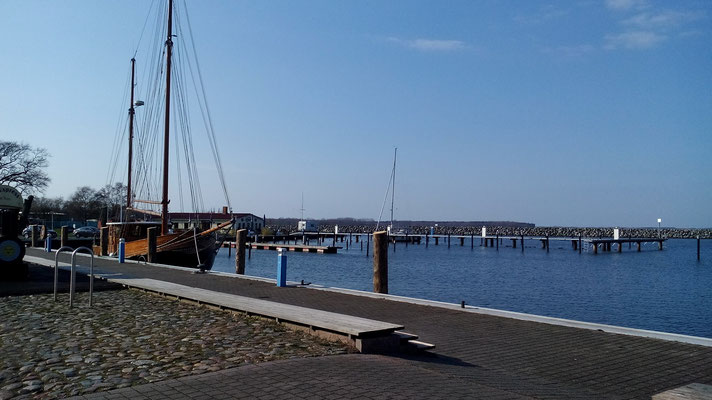 Hafen Barth am Barther Bodden