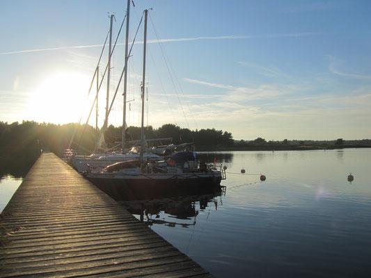 Darßer Nothafen an der Ostsee