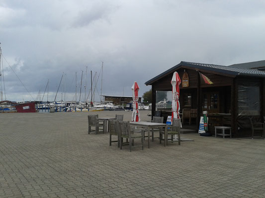 Kiosk Hafen Barth am Barther Bodden