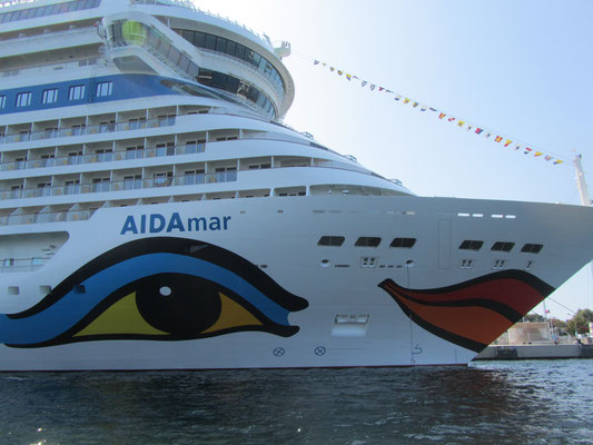 Aida in Warnemünde