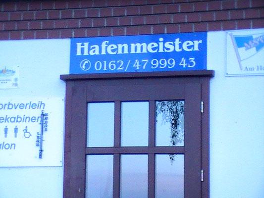 Telefonnummer Hafenmeister
