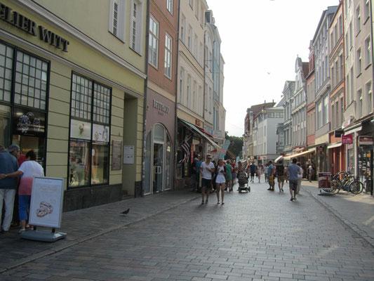 Rostock Einkaufsstraße