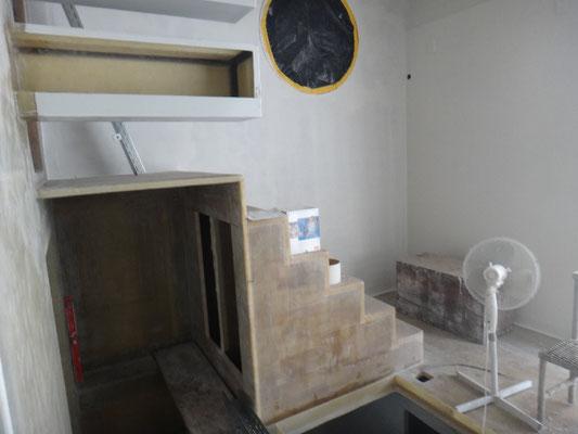Flur - Treppenaufgang zum Bedezimmer