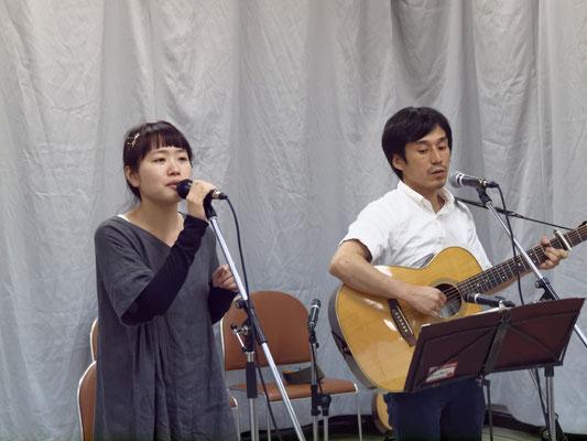 アコースティックライヴ@Kitamoto ゲスト フォークデュオ こたつじゃっく
