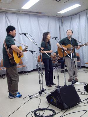 アコースティックライヴ@Kitamoto ゲスト PP&M コピーバンド  FULL House