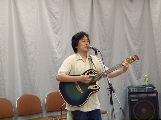 アコースティックライヴ@Kitamoto ゲスト ギター弾き語り 橘光顕