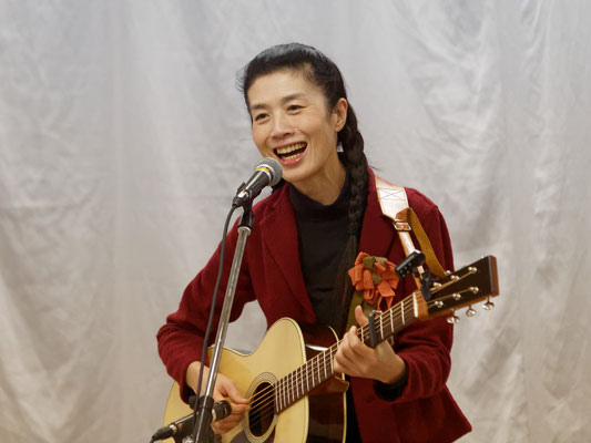 アコースティックライヴ@Kitamoto ゲスト シンガーソングライター よしだよしこ