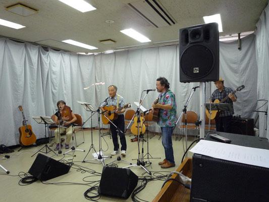 アコースティックライヴ@Kitamoto ゲスト フォークシンガー 松島よしお, 花岡かよこ
