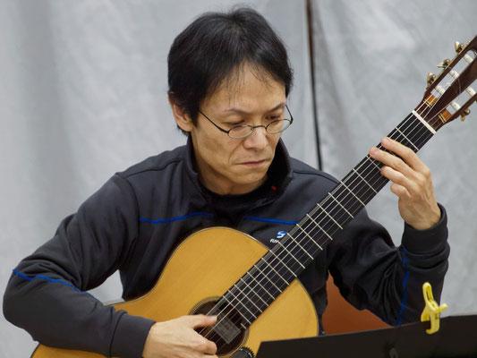 アコースティックライヴ@Kitamoto ゲスト クラシックギター奏者・講師 鎌田義人