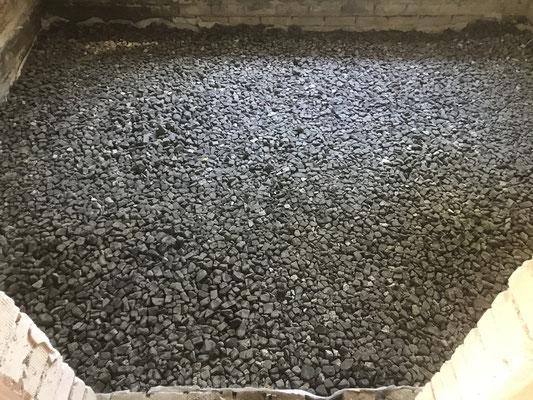 Lüttmers Naturbau.   Geocell Schaumglas Schotter
