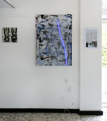 Udo Makulla, Lichtbild 100 x 70 cm Mixed Media