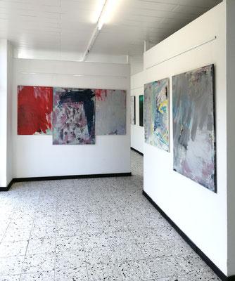 Bilder Udo Makulla, Galerie Camino 31.3.2019