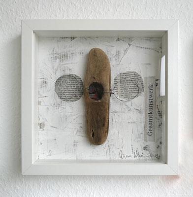 Assemblage 25 x 25 cm, Reiner Olesch