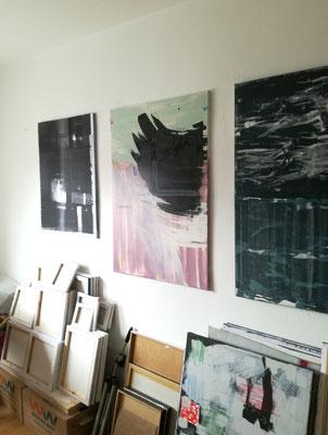 Udo Makulla im Atelier