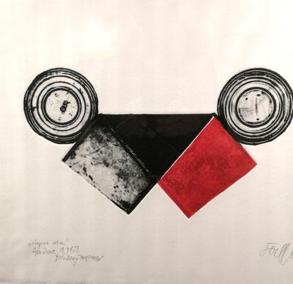 Reinhold Koehler, Decollages inprimes_4_Büchsendrucke_Kunstkreis Siegerland