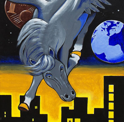 Pegasus - Bild von Jochen Fend, Mitglied im Kunstkreis Siegerland