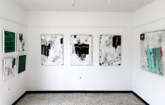 Bilder Reiner Olesch, Galerie Camino 31.3.2019