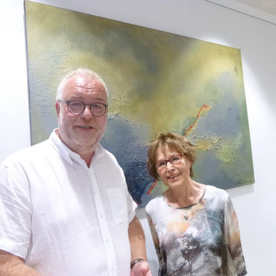 Walter Kiss, Bürgermeister Stadt Kreuztal, Rosemarie Hirsch