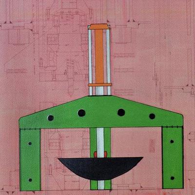 Bild von Eckhard Schröder, Mitglied im Kunstkreis Siegerland
