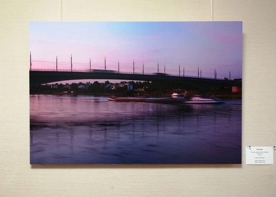 Strömungen, Foto 50 x 75 cm auf Alu-Dibond, Sabine Birkwald