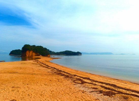 小豆島...エンジェルロード~天使の散歩道