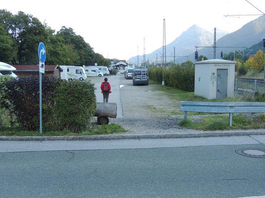 Stellplatz in Mittenwald