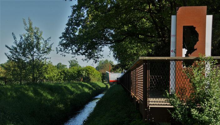 Der Rodebach als natürliche Grenze zwischen D & NL