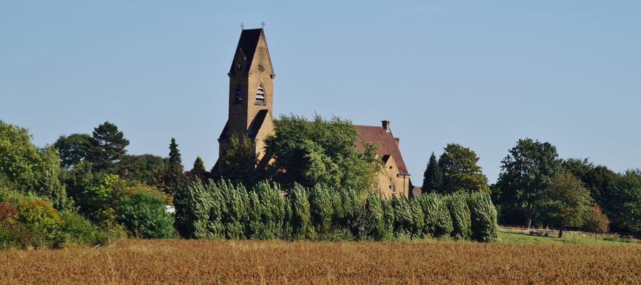 Der Kirchturm von Bingelrade