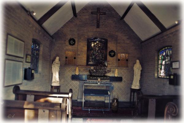 Innenaufnahme der Kapelle