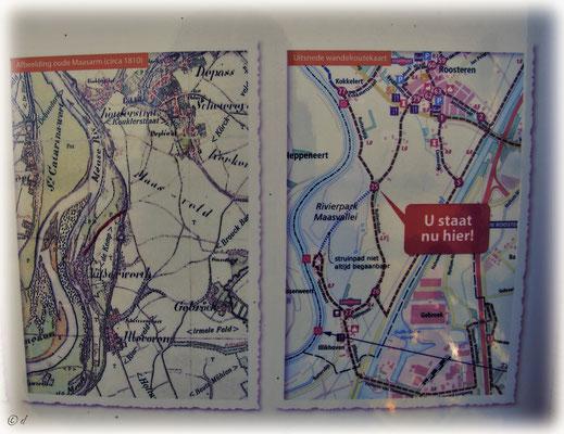 ... erklären die Renaturierung und die Wiederbelebung des alten Flussverlaufs