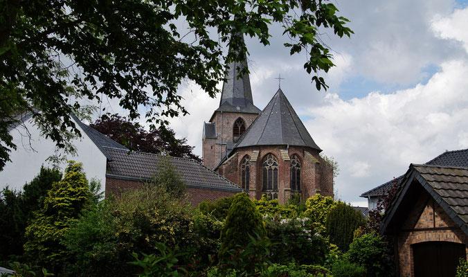 Die Kirche von Waldfeucht
