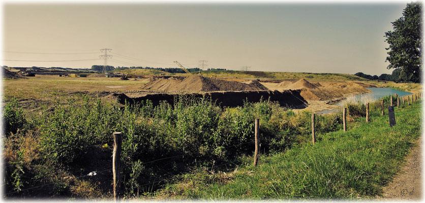 Der Sand- & Kiesabbau an der Maas