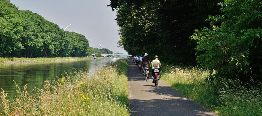 Ein wunderschöner Radweg