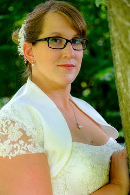 Braut Portrait Wasserschloss Oppenweiler