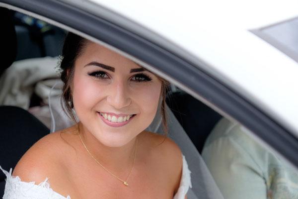 Ankunft Braut am Standesamt