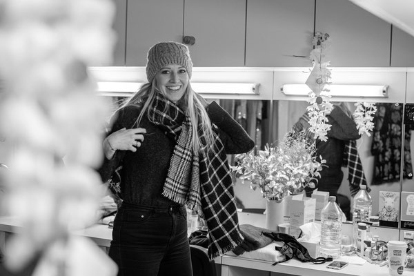 Bianca Spiegel, One day in actors life, Fotograf Stuttgart, Theater, Garderobe