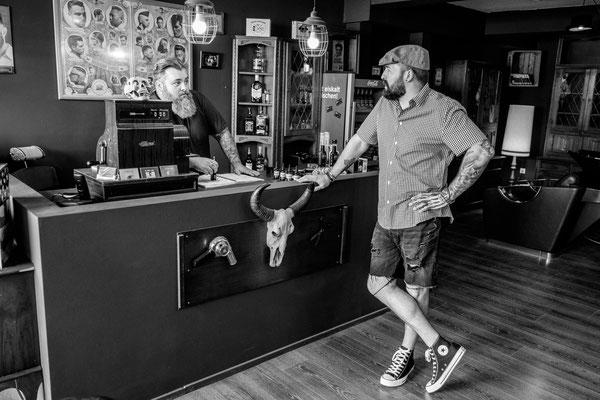 Als Fotograf bei Barber in Leonberg