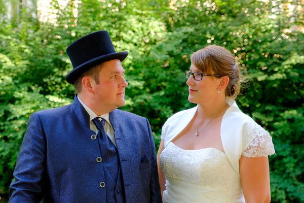 Brautpaar Hochzeitsfoto Oppenweiler Wasserschloss