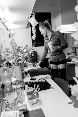 Bianca Spiegel, One day in actors life, Fotograf Stuttgart, Theater