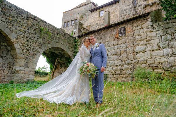 Burghochzeit Hochzeitsbild Burg Lichtenberg
