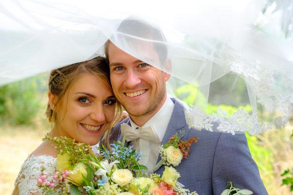 Brautpaar auf Burg Lichtenberg Oberstenfeld
