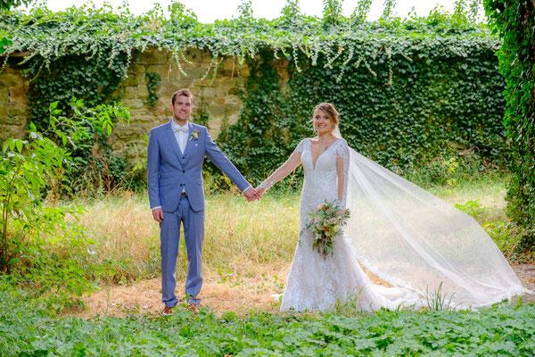 Burghochzeit Oberstenfeld Brautpaar